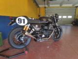 Moto Guzzi Fast Endurance European Cup 2021 carrera Vallelunga 54