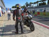 Moto Guzzi Fast Endurance European Cup 2021 carrera Vallelunga 91