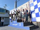 Moto Guzzi Fast Endurance European Cup 2021 carrera Vallelunga Podio