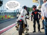 Moto Guzzi Fast Endurance European Cup 2021 carrera Vallelunga comic