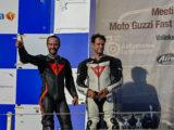 Moto Guzzi Fast Endurance European Cup 2021 carrera Vallelunga podium