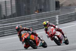 Pedro Acosta vs Sergio Garcia Moto3 Estiria