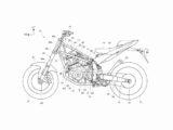 honda nt1100 2022 bikeleaks patente