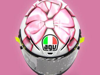 Casco Valentino Rossi MotoGP Misano 2021 (4)