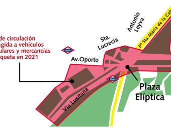 Distrito Centro Zona bajas emisiones