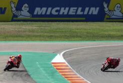 Marc Marquez Pecco Bagnaia MotoGP Aragon 2021