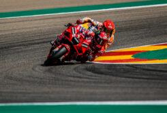 Pecco Bagnaia Marc Marquez MotoGP Aragon 2021