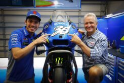Joan Mir homenaje Kevin Schwantz MotoGP Austin (1)