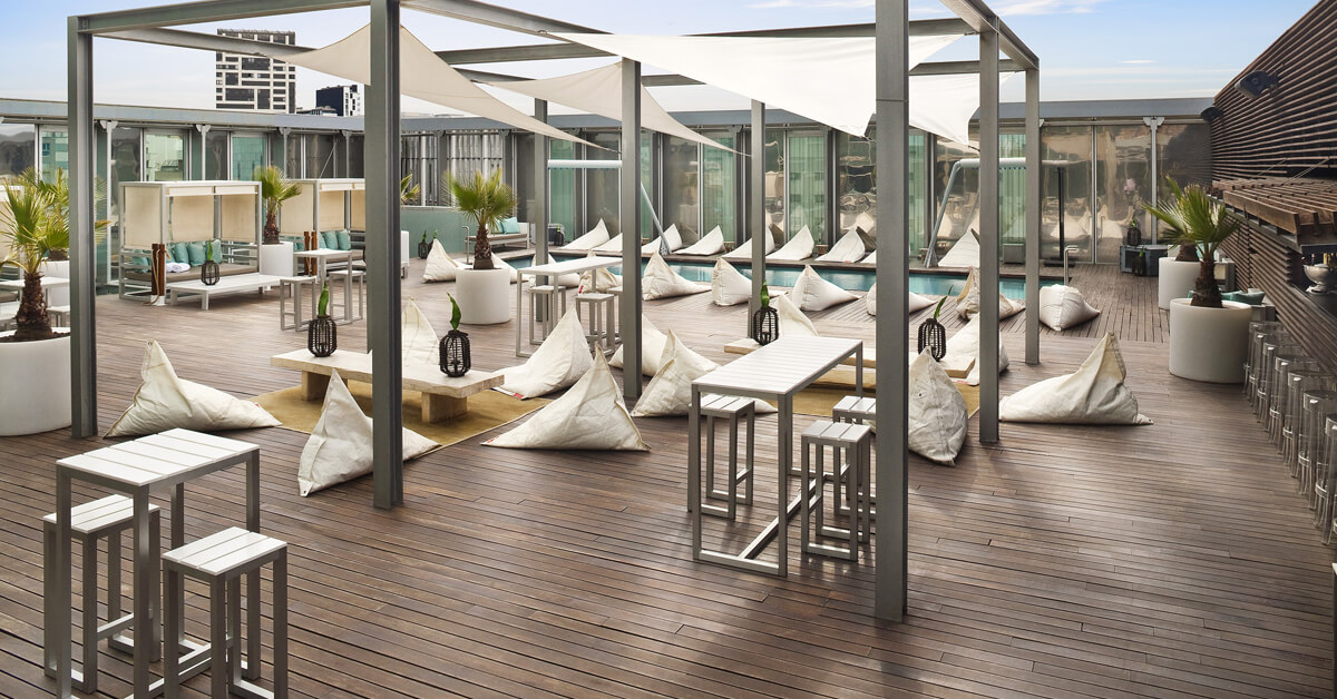 Le Pool Club - Melia Sky Le Pool Club - Melia Sky Carrer de Pere IV, 272, 08005 Barcelona, Spain