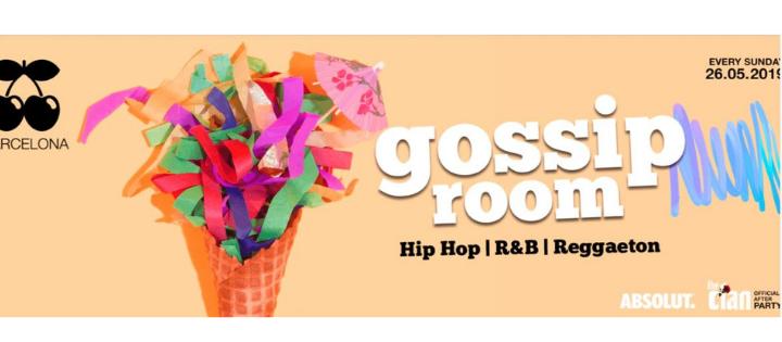 GOSSIP ROOM - Every Sunday - Club Pacha Barcelona