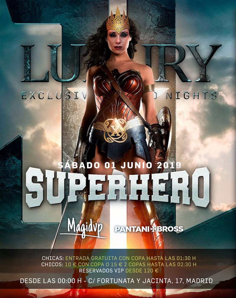 Superhero - Club Luxury Nightclub