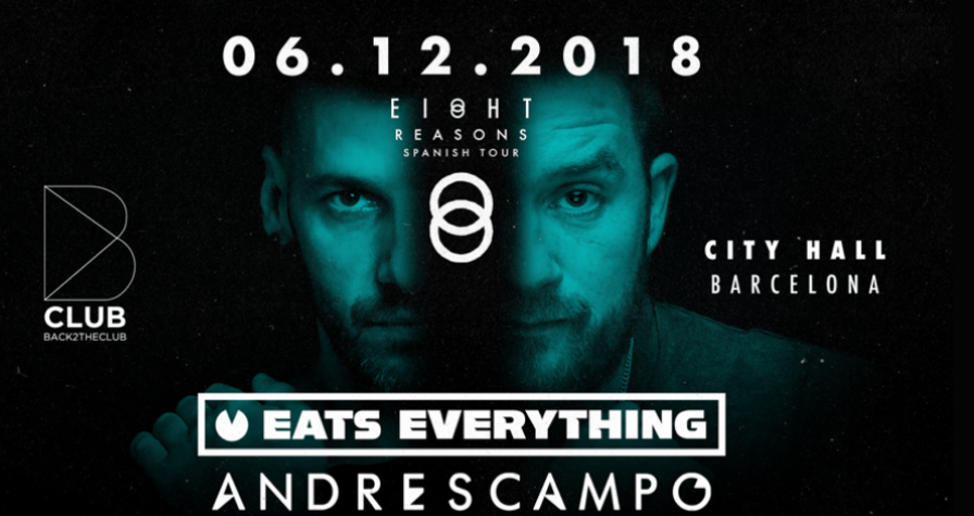 B CLUB - EIGHT SEASONS W/ EATS EVERYTHING & ANDRES CAMPO CITYHALL