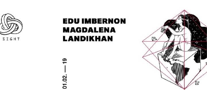 SIGHT PRES. MAGDALENA, EDU IMBERNON AND LANDIKHAN PACHA BARCELONA