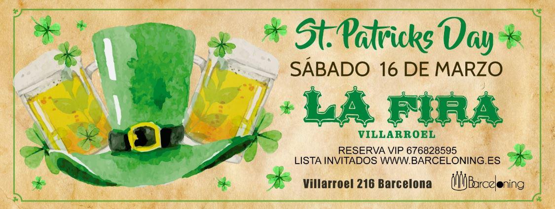 SAINT PATRICKS - LA FIRA VILLARROEL LA FIRA VILLARROEL