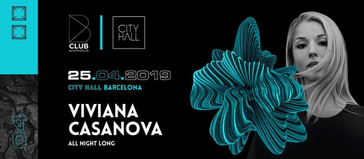 B CLUB : VIVIANA CASANOVA  CITYHALL