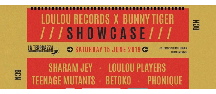 LouLou Records x Bunny Tiger showcase | Off Week June 2019 - Club La Terrrazza
