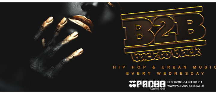 BACK2BLACK - Every Wednesday - Club Pacha Barcelona