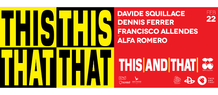 SIGHT PRES. DAVIDE SQUILLACE, DENNIS FERRER, FRANCISCO ALLENDES AND ALFA ROMERO PACHA BARCELONA