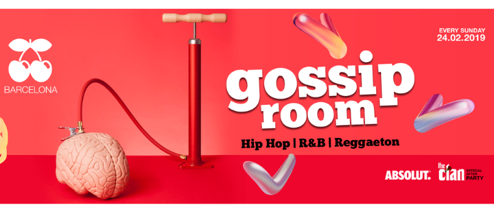 GOSSIP ROOM - EVERY SUNDAY PACHA BARCELONA
