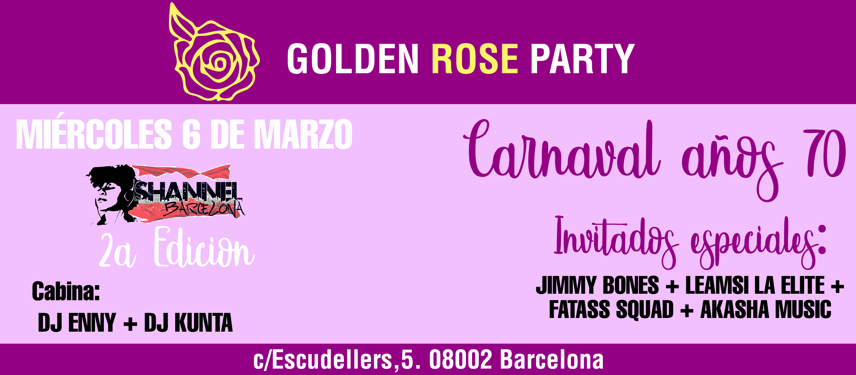 CADA MIERCOLES  - HIP HOP GOLDEN ROSE PARTY