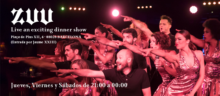 EXPERIMENTA UN EXCITANTE DINNER SHOW - Club ZUU
