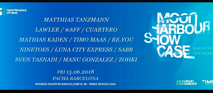 MOON HARBOUR PERS. BY PACHA BARCELONA OFF WEEK PACHA BARCELONA