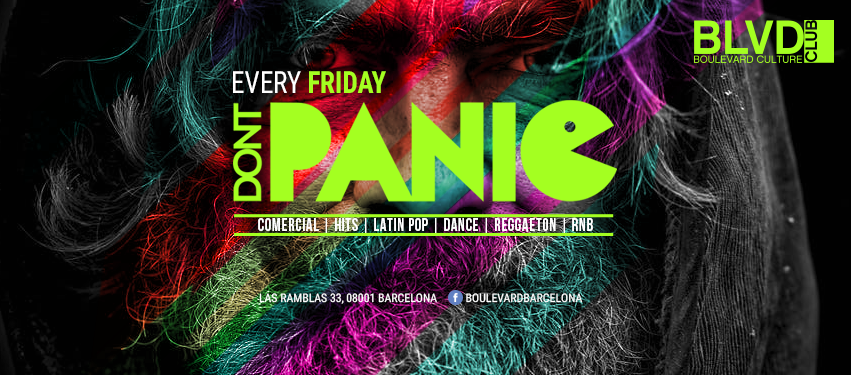 DON'T PANIC - EVERY FRIDAY BOULEVARD
