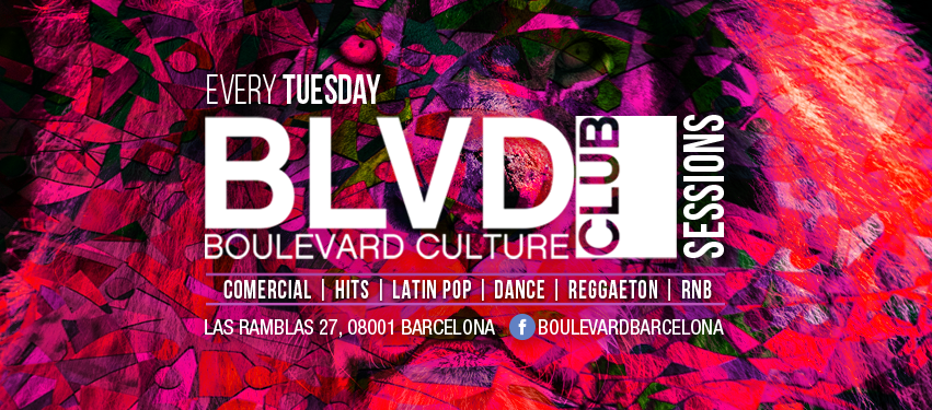 BOULEVARD SESSIONS - TUESDAY EDITION - Club Boulevard