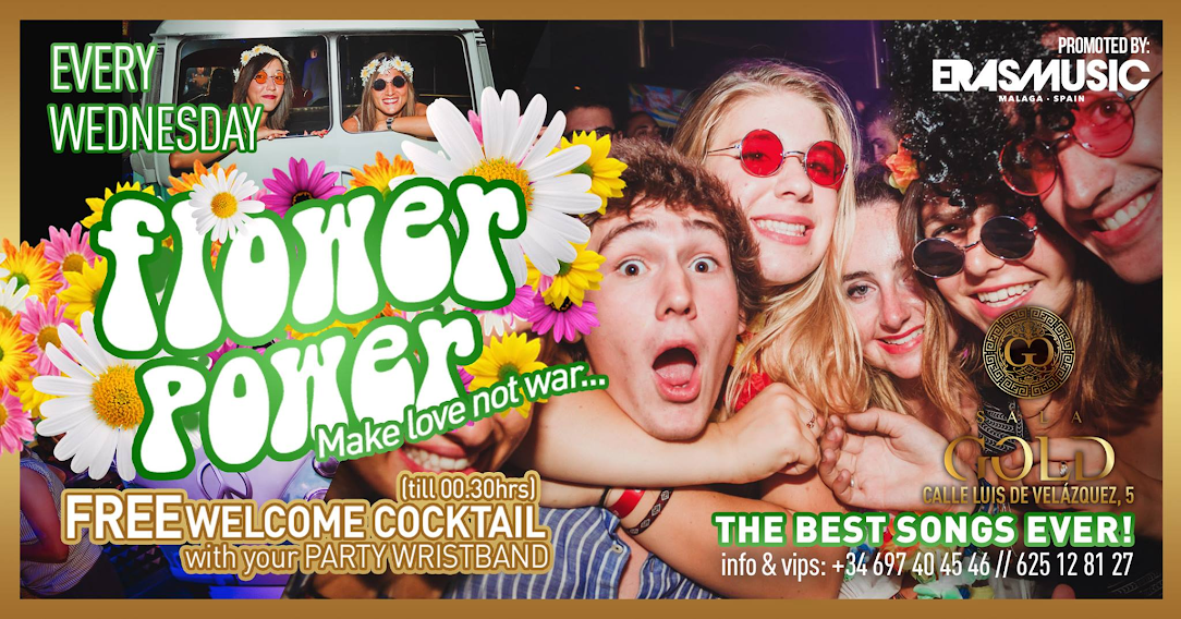 Flower Power - Club SALA GOLD