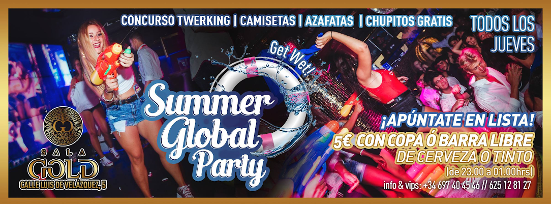 Summer Global Party - Club SALA GOLD