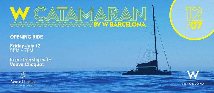 W CATAMARáN | OPENING W BARCELONA