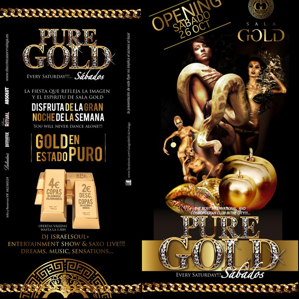 Pure Gold - Club SALA GOLD