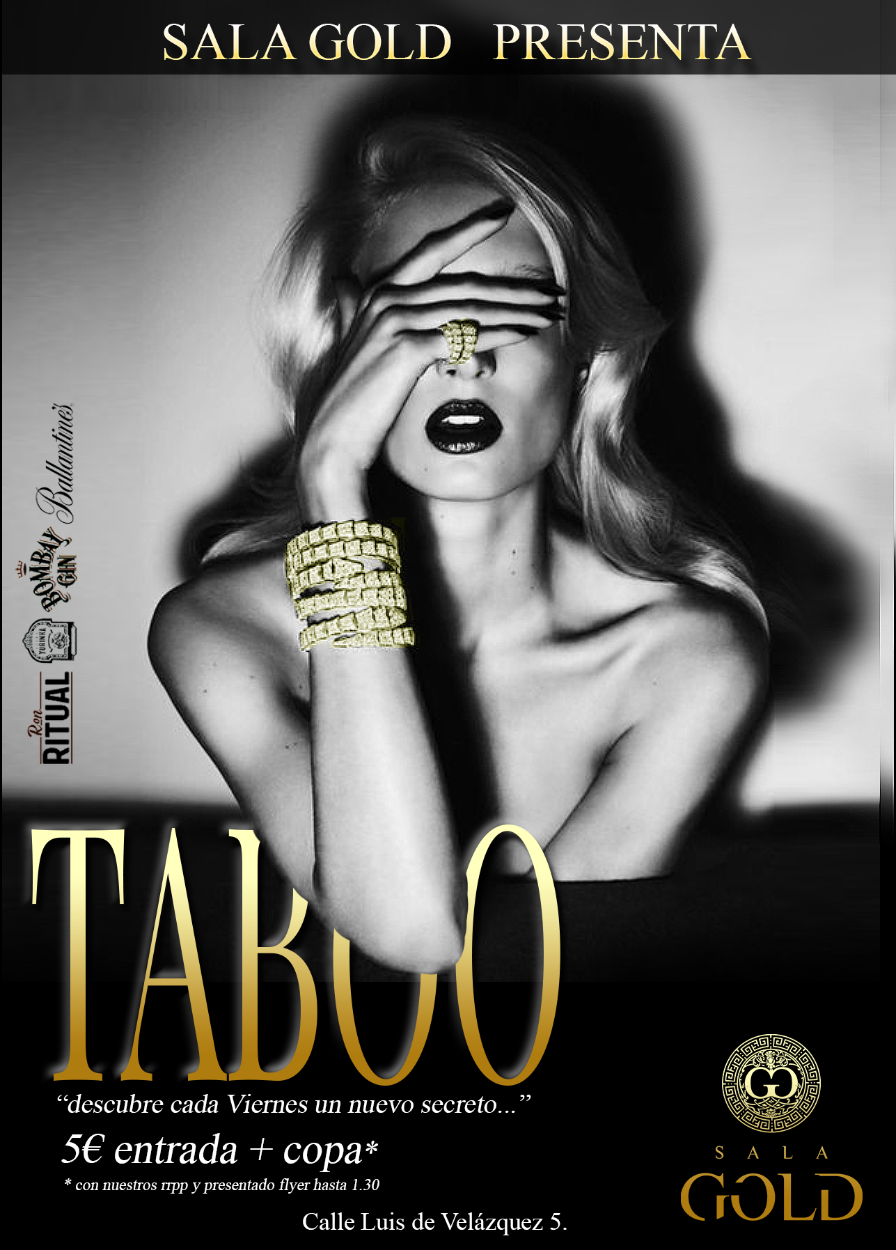 TABOO SALA GOLD