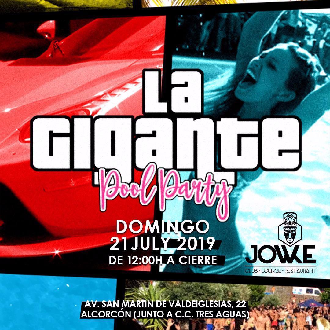 VICIO AMERICAN - POOL PARTY (5ºANIVERSARIO) LA GIGANTE