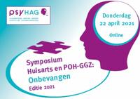 22 april-symposium huisarts en POH-GGZ: Onbevangen