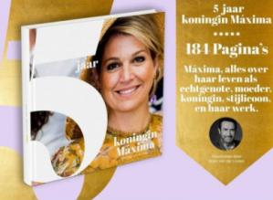 Gratis  5 jaar Koningin Máxima boek bij aankoop van  2 actieproducten L'Oréal
