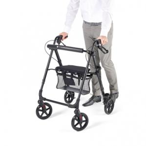 Vitility Rollator Compact Zwart voor €85