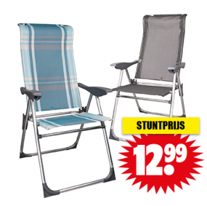 Luxe relaxstoel voor €12,99