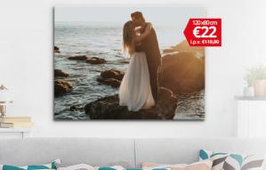 Canvas XXL ( 120cmx80cm) voor €22