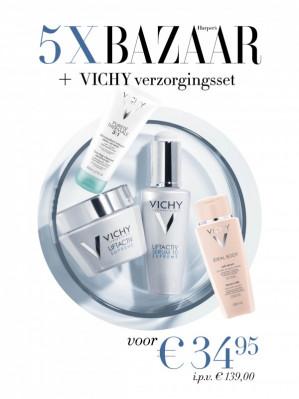 5x Harper's Bazaar met Vichy verzorgingsset Gratis voor 34,95