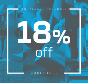 Code voor 18% korting
