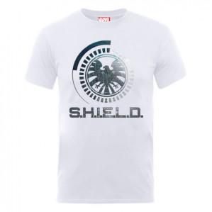 Marvel Avengers Assemble S.H.I.E.L.D. T-shirt  met Gratis Marvel Comics S.H.I.E.L.D. deurmat voor €17,99 dmv code