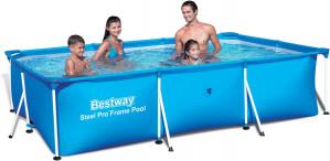 Bestway Deluxe 300x201x66 cm - Zwembad voor €53