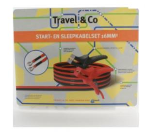 Travel & Co Start en sleepkabelset voor €5 voor ANWB leden