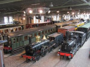 Entreeticket spoortwegmuseum met treinkaartje voor €24
