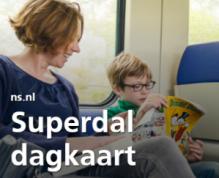 Superdal dagkaart voor €26