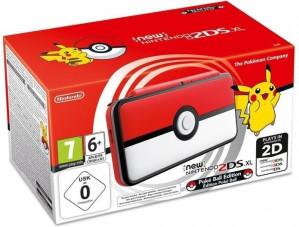 New Nintendo 2DS XL (Pokeball Edition) voor €114,77