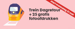 NS dagretour en 25 HEMA foto-afdrukken voor €19