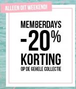 Hunkemöller sale 20% korting op totale collectie
