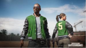PUBG5 jacket voor PlayerUnknown's Battlegrounds Gratis